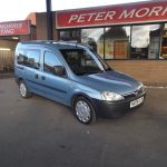 Vauxhall Combo Tour 1.3 CDTi Wheel chair accessible vehicle